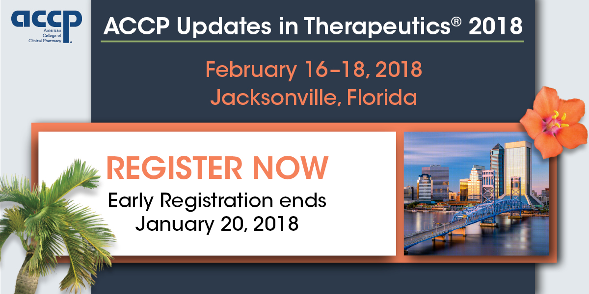 Registration for Updates in Therapeutics® 2018 Is ...